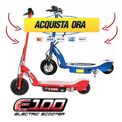Razor_E100_prezzo Razor E100 Monopattino Elettrico: prezzo e offerte