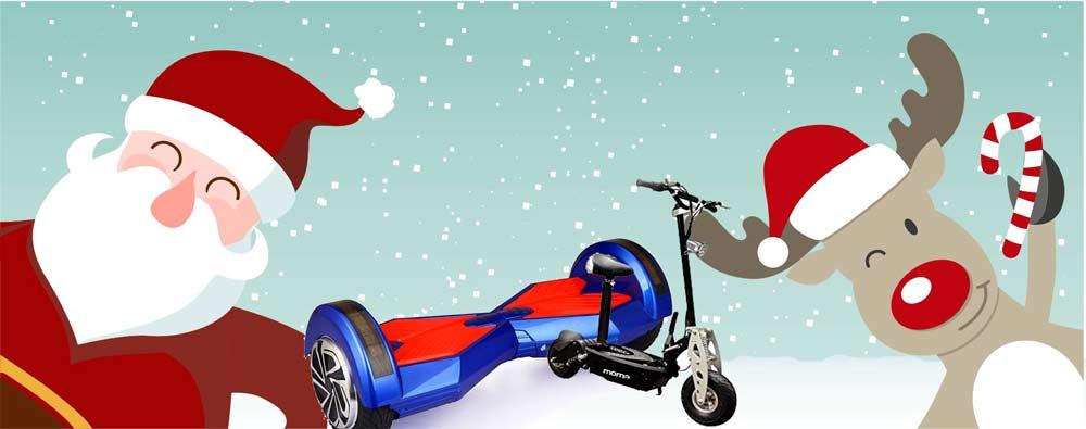 natale-hoverboard-monopattini A Natale e SantaLucia regala un Hoverboard o un Monopattino Elettrico