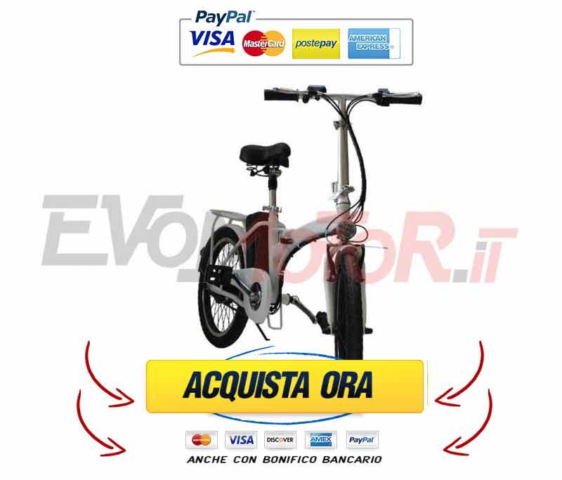 bici-elettrica-em-250-nera BICI ELETTRICA EM-250 PIEGHEVOLE: Recensione, Prezzo e offerta