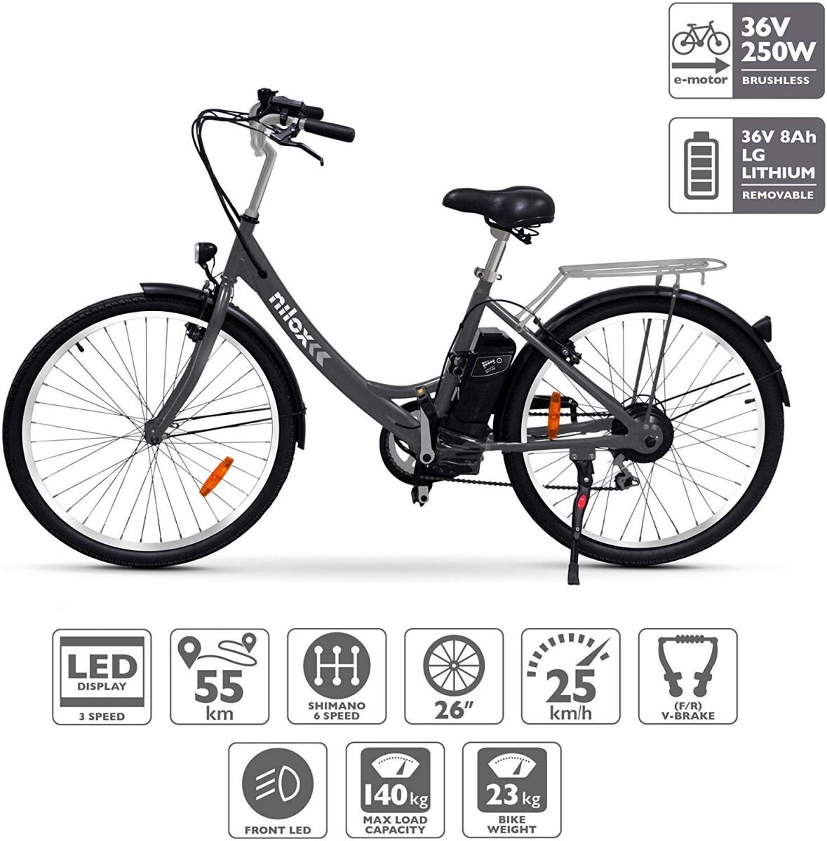 Nilox-E-Bike-X5 Nilox E Bike X5